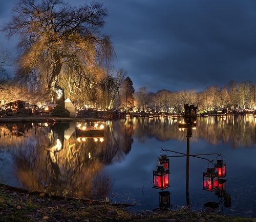 Phantastischer Mittelalterlicher Lichter  Weihnachtsmarkt  &  Fabelwesenfestival